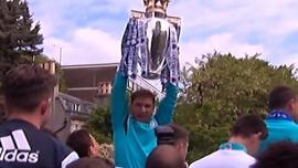 Лондон окрасился в синий цвет в честь победы «Челси»